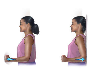 Rotator Cuff Exercise: Flex and Extension