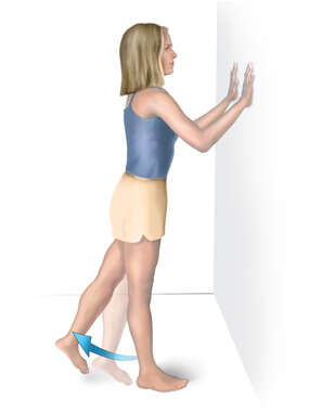 Ankylosing Spondylitis: Hip Extension Exercise