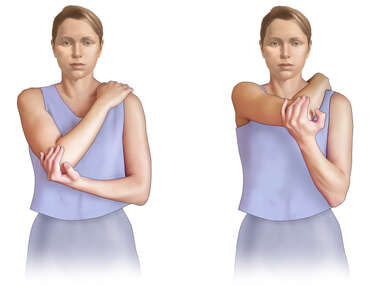 Rotator Cuff Exercise: Posterior Stretches
